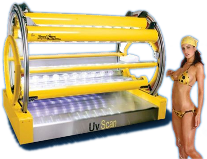 High Pressure Tanning Beds :: UV Scan 360